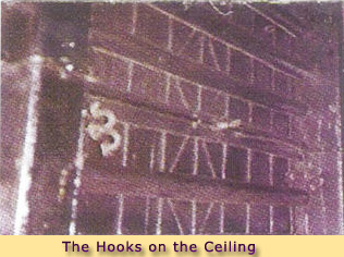 THE HOOKS ON THE CEILING