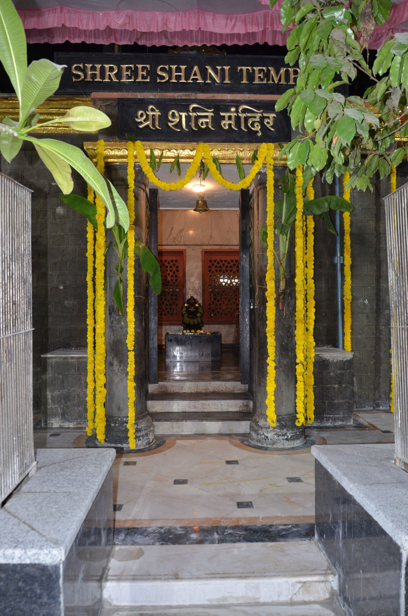 shani bagawan temple in shirdi near to saibaba samadhi mandir